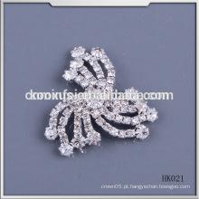O remendo de cristal do Rhinestone da forma sew no vestido