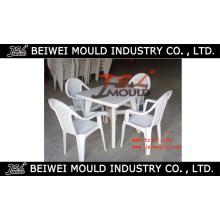 Plastikim Freientisch- / Stuhl-Form, die in China Huangyan macht