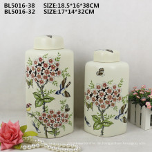Home Dekor Tropfen Safe Paket China Procelain Blume Vase für Innenarchitektur Ornament