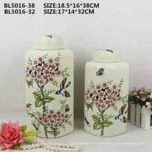 Домашнего декора падения безопасный пакет китайского фарфора ваза для цветов для дизайна интерьера орнамент