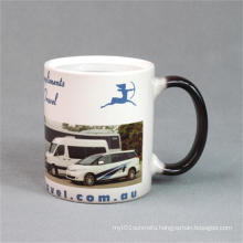 Color Changing Ceramic Magic mugs for heat sublimation