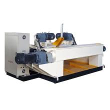 4ft Automatic plywood core veneer peeling machine wood log debarking machine