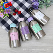 wholesale double layers stainless steel 304 vacuum insulate flask cute candy bottle water cup LOGO custom
