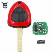 High quality black car remote key 3 button car remote key for Ferrari with ID48 chip 433 MHZ YS100135