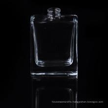 Polishing 50ml Square Glass Perfume Bottle