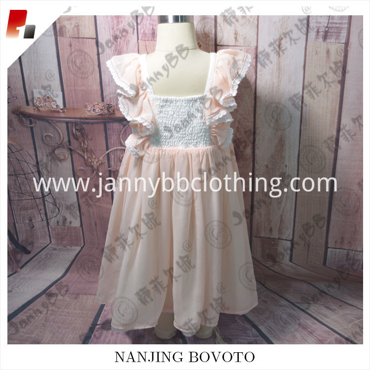 girls smocking dress01