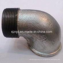"""1-1 / 2 """"F & M com cercadura Galvanizado cotovelo maleável ferro Pipe Fittings"""