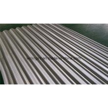 Plaque en acier résistant à l'usure ondulée pour la construction de toits