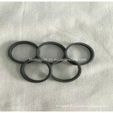 Imán permanente del anillo de la ferrita, tamaños personalizados se aceptan
