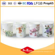CIQ Eco-Friendly barato castiçais de cerâmica