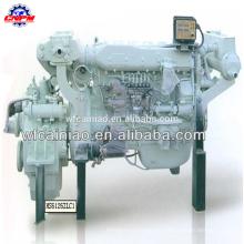 weifang venta caliente motor diesel marino de 6 cilindros