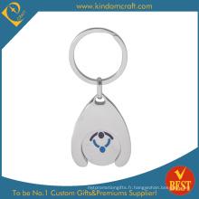Porte-clés en métal personnalisé (KD-749)