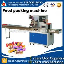 Máquina de envoltório de plástico totalmente automática para alimentos TCZB-320 flow wrap machine