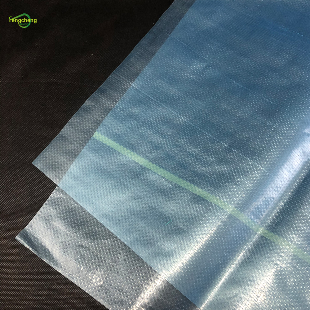 200micron Blue Transparent Mulch Film
