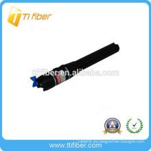 Tipo de la pluma 650nm localizador visual de la avería de la fibra óptica / VFL