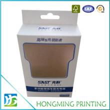 Custom Printed Clear Window White Paper Box