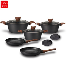 Tyska kvalitet Hot Sell 10st Cookware Set