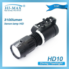 HI-MAX HID Xenon-Lampe wasserdichte Tauch-Taschenlampe (HD10)