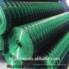 Anping suppliers best quality decorative garden fencing 2x2 pvc coated welded wire mesh