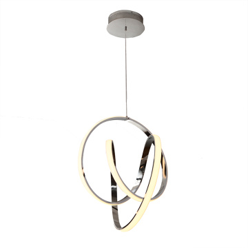 éclairage à la maison acrylique moderne lampe suspension