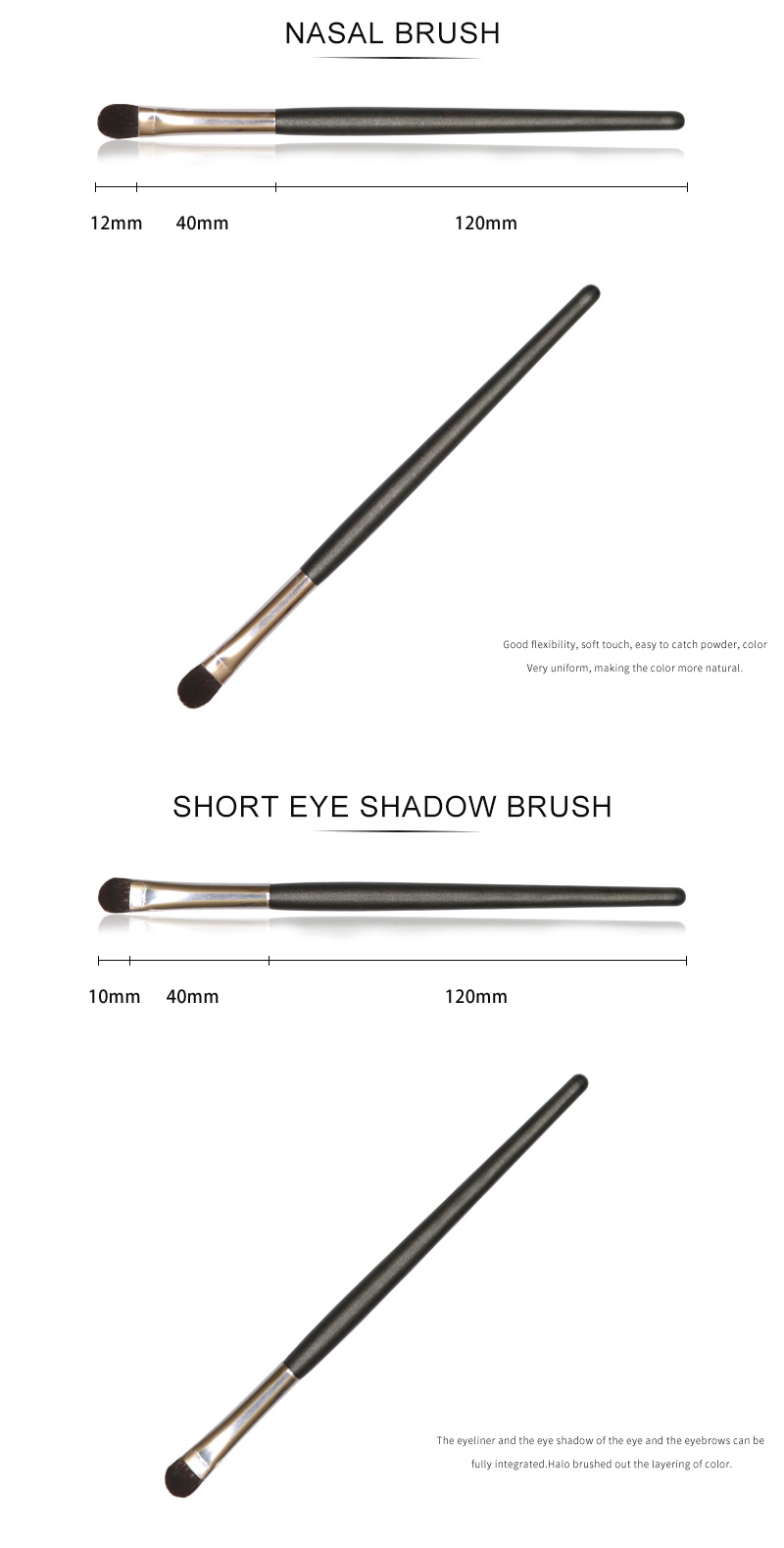 6 PCS Eyeshadow Brushes Set 5