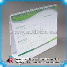 Calendario de escritorio en espiral, servicio de impresión de calendario de mesa
