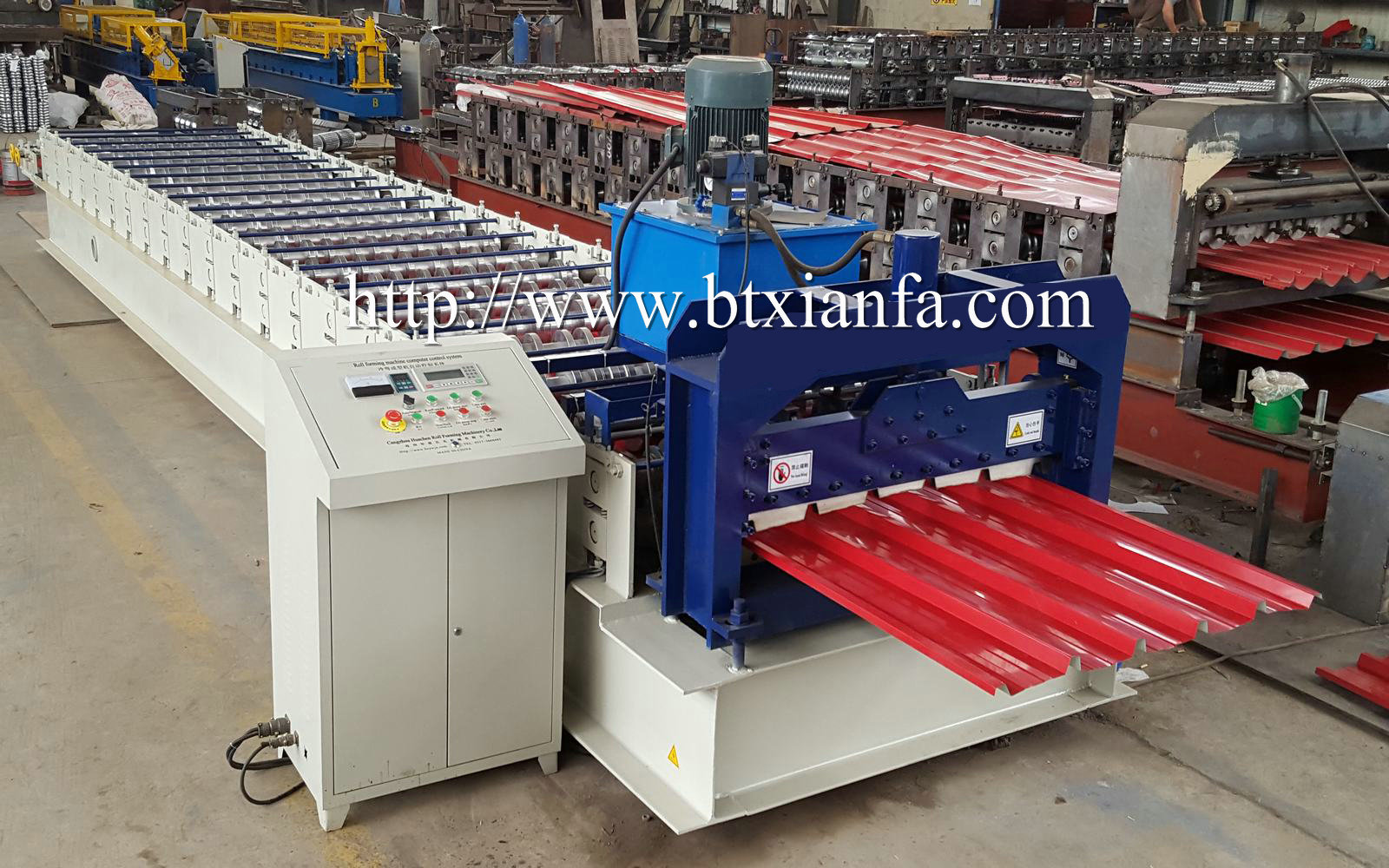 Tile Makling Machine