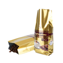 Customized Packaging Design Coffeetea Snack Zipper Stand up Zip Lock Printing Aluminum Foil Zip Lock Coffee Bag