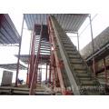(ИСО 9001 & се) высокий Угол наклона резины ленточный конвейер Цена