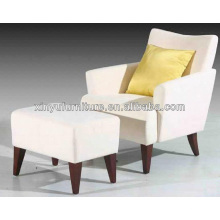 American style wooden hotel chair with ottoman XY2472