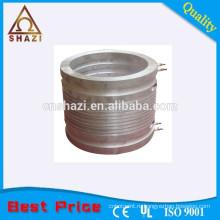 Теплостойкий алюминиевый литой нагреватель для формовочных валиков