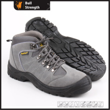 Industrial Leather Safety Shoes with Steel Toe and Steel Plate (SN5238)