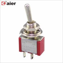 Daier ON-OFF Single Pole Mini interruptor de palanca
