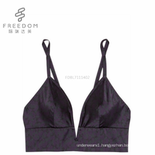 FDBL7111402 Sexy ladies katrina kaif sexy xxx photo hot photo high quality silk crop top v plunge underwear bra and bralette