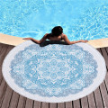 Customized Color Printing High Quality Round Beach Towel