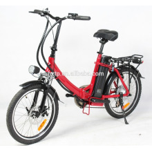 2017 top seller 250 W dobrar bicicleta elétrica com pedal assit para adultos