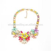 jewelry summer hot exaggerated coarse hawaii flower beads necklace acrylic necklaces