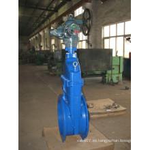 Válvula de compuerta eléctrica de hierro fundido