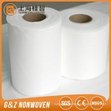 rolos não tecidos de bambu orgânicos do tecido da tela não tecida do spunlace