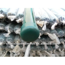 Powder Coated Metal Round Fence Posts