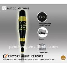 Profesión Tatuaje máquina permanente amarillo dragón maquillaje pluma