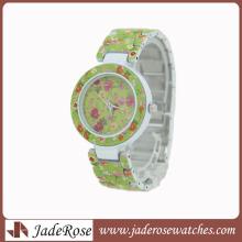 Красочный и мода сплава наручные часы