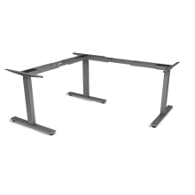 L-Shape Three Motors Electric Height Adjustable Desk