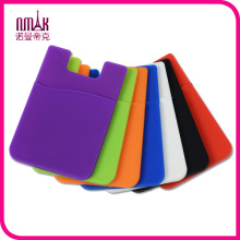 Self Adhesive Smart Wallet Silicone Card Pocket for iPhone 6 5 5c 5s Samsung A1