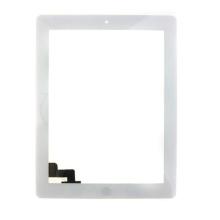Proveedor de China Touch Glass para el panel de la pantalla del iPad 2 Blanco