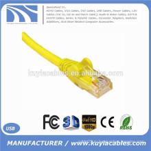 Высокое качество желтый RJ45 кристалл Подключите к RJ45 кристалл Подключите кабель 1,5 Метран LAN кабель