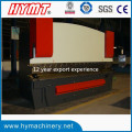WC67Y-160X3200 Prensa plegadora hidráulica con E21