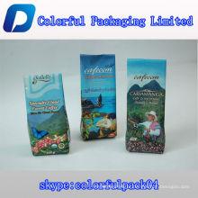 Alta qualidade pequeno saco de embalagem de grãos de café com Válvula