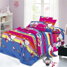 Textiles 100% Poliéster Tejido de sábana de impresión dispersa