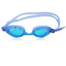 Venta al por mayor Ajustable impermeable gafas de natación de silicio